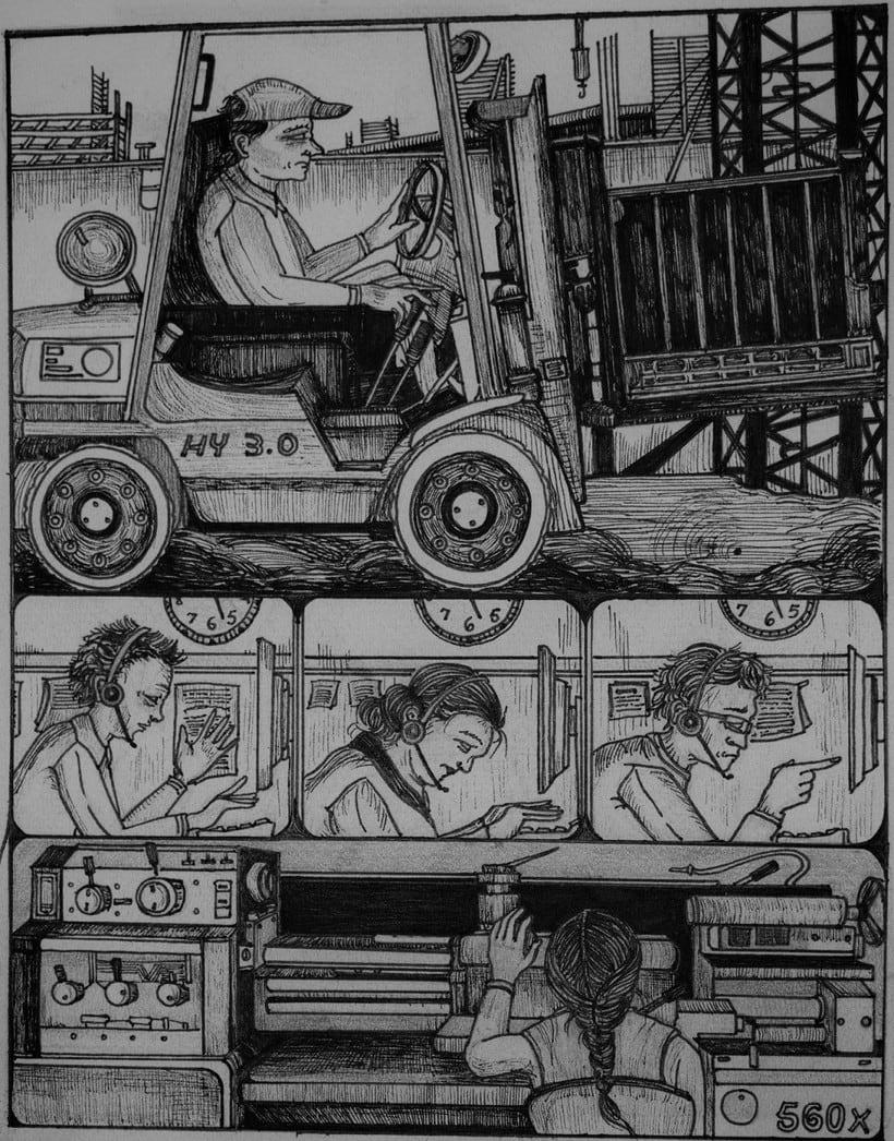 Ilustraciones para carteles 1