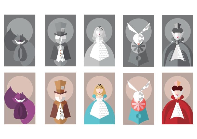 Diseño editorial: Alicia en el País de las Maravillas 3