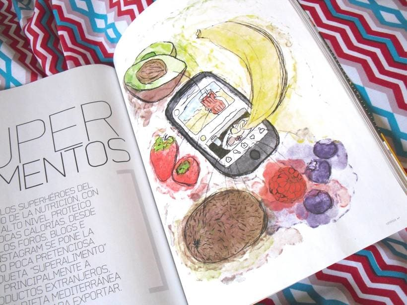 """Superfoods"" en revista DT junio 3"
