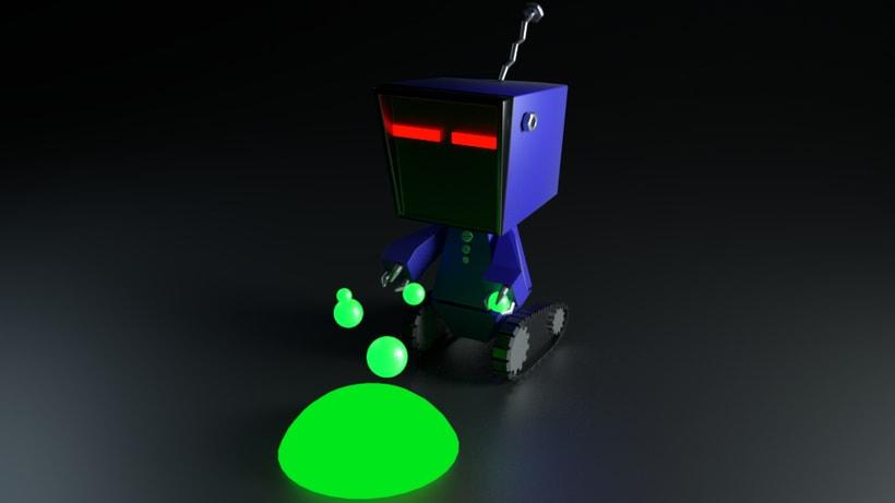 Mi Proyecto del curso: Introducción al Diseño y Modelado 3D con Blender -1