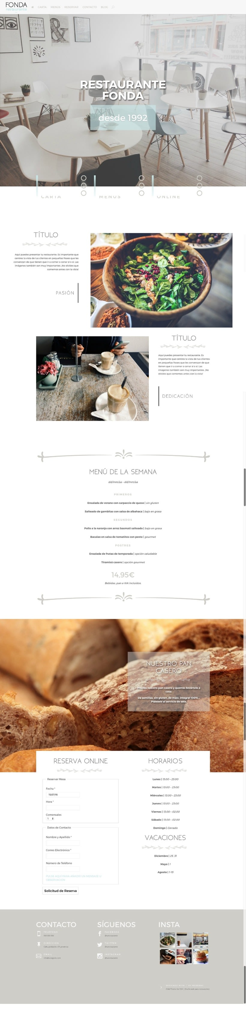 Fonda - Child Theme for Divi -1