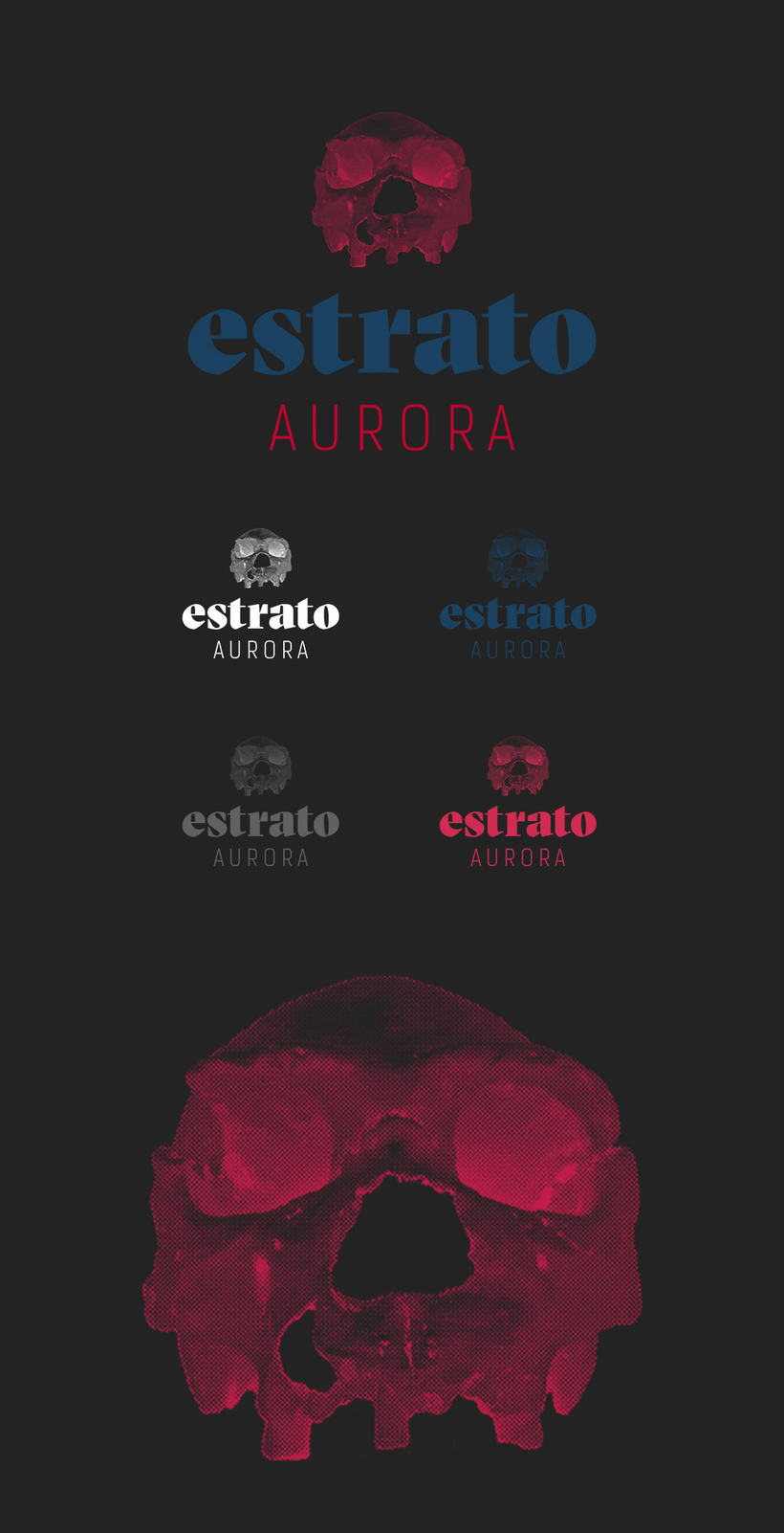 Logotipo Estrato Aurora + video 0