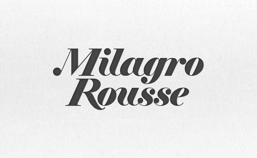 Logotipo Joyería Milagro Rousse 0