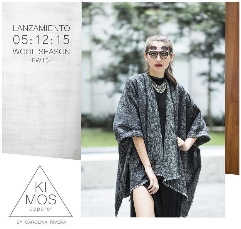 Colección FW15 Kimos Apparel / Diseño, Dirección de Arte y Estilismo / Ph: Paco Díaz 0