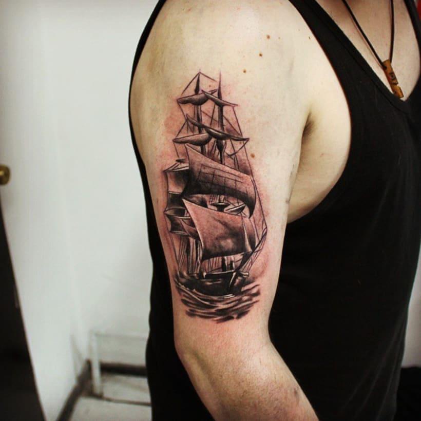 Siete Mares Tattoo Santiago 26