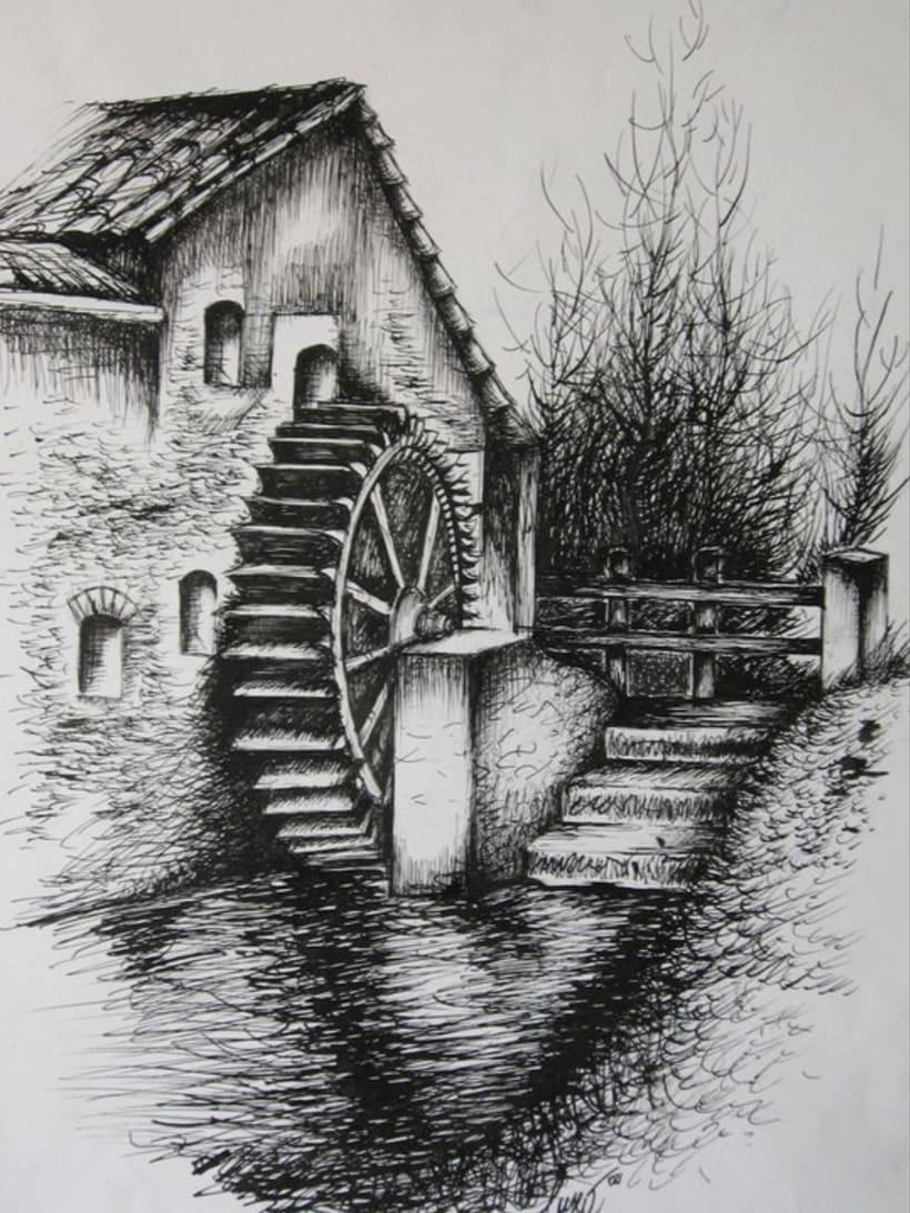 Bellas Artes - Trabajos de dibujo y pintura 1