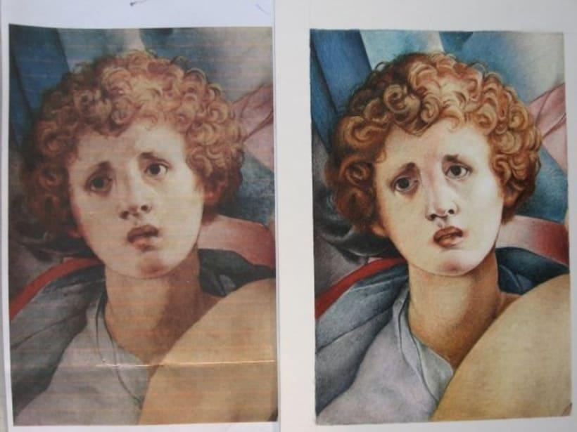 Bellas Artes - Trabajos de dibujo y pintura 4