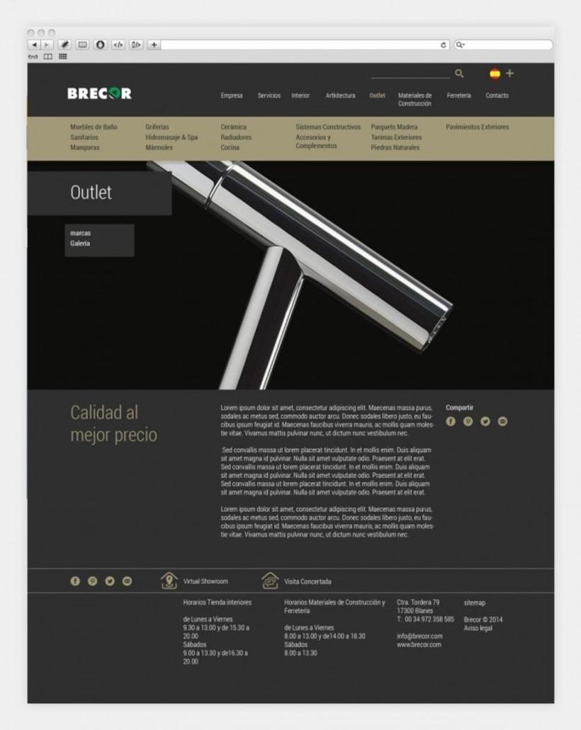 Diseño y programación de brecor.com 1