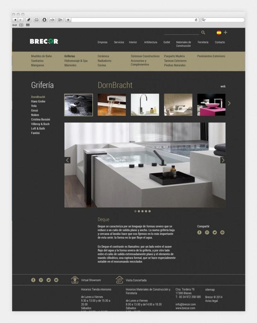 Diseño y programación de brecor.com 2