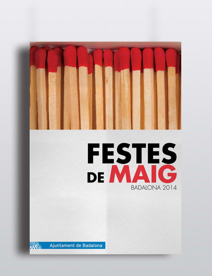 Cartel Festes de Mag Badalona 2014 0