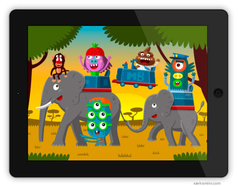 Monsters Band 2 - Mundo de puzzles - 4