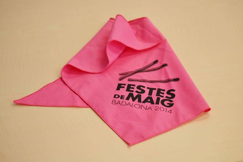Cartel Festes de Mag Badalona 2014 2