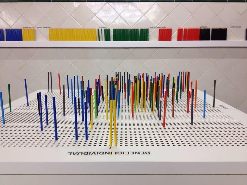 Pencil Case- Instalación interactiva para las Jornadas de Arte y Diseño Nau3 3
