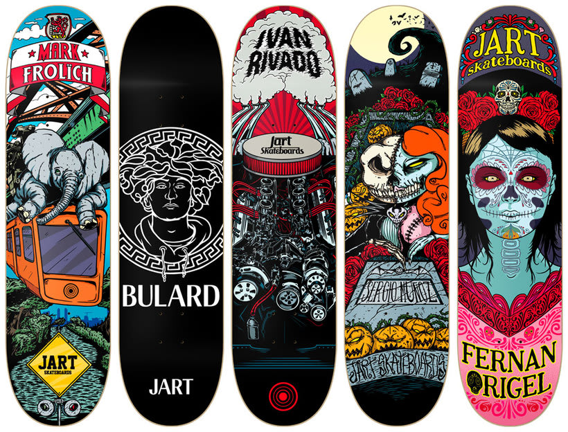Jart Skateboards - Cur Off Pro Series -1