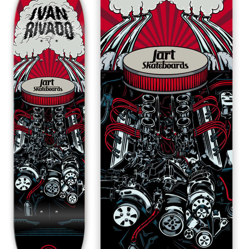 Jart Skateboards - Cur Off Pro Series 1
