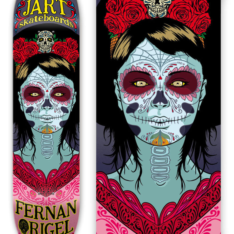 Jart Skateboards - Cur Off Pro Series 2