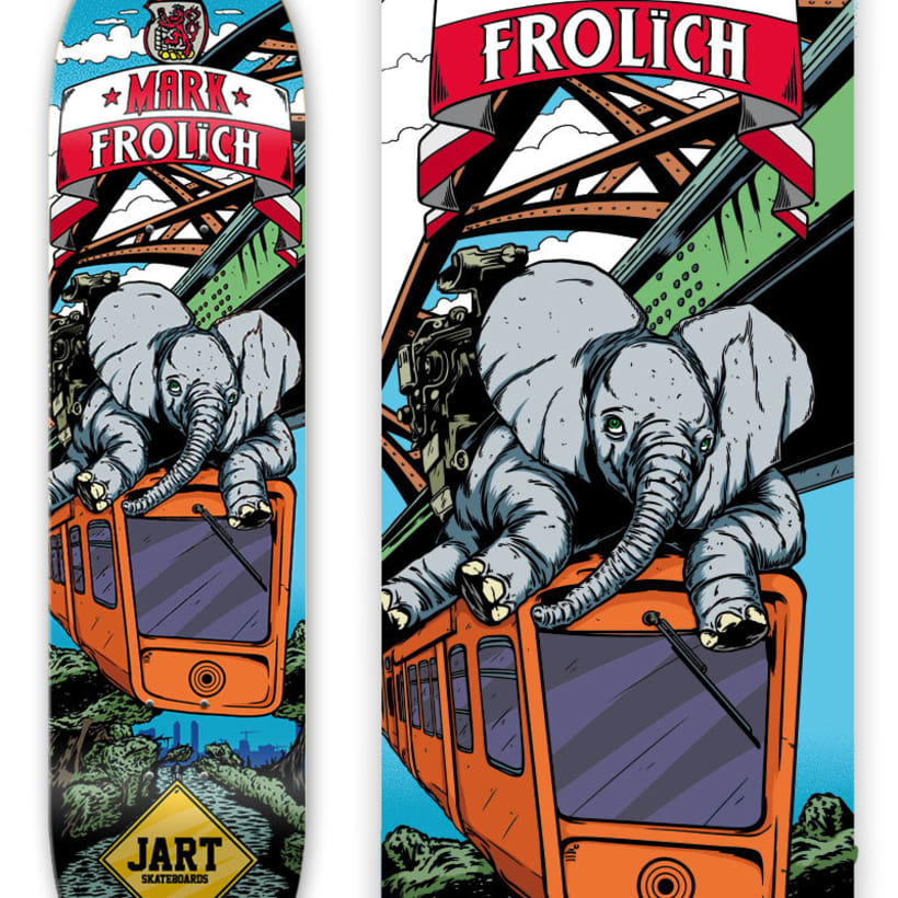 Jart Skateboards - Cur Off Pro Series 3