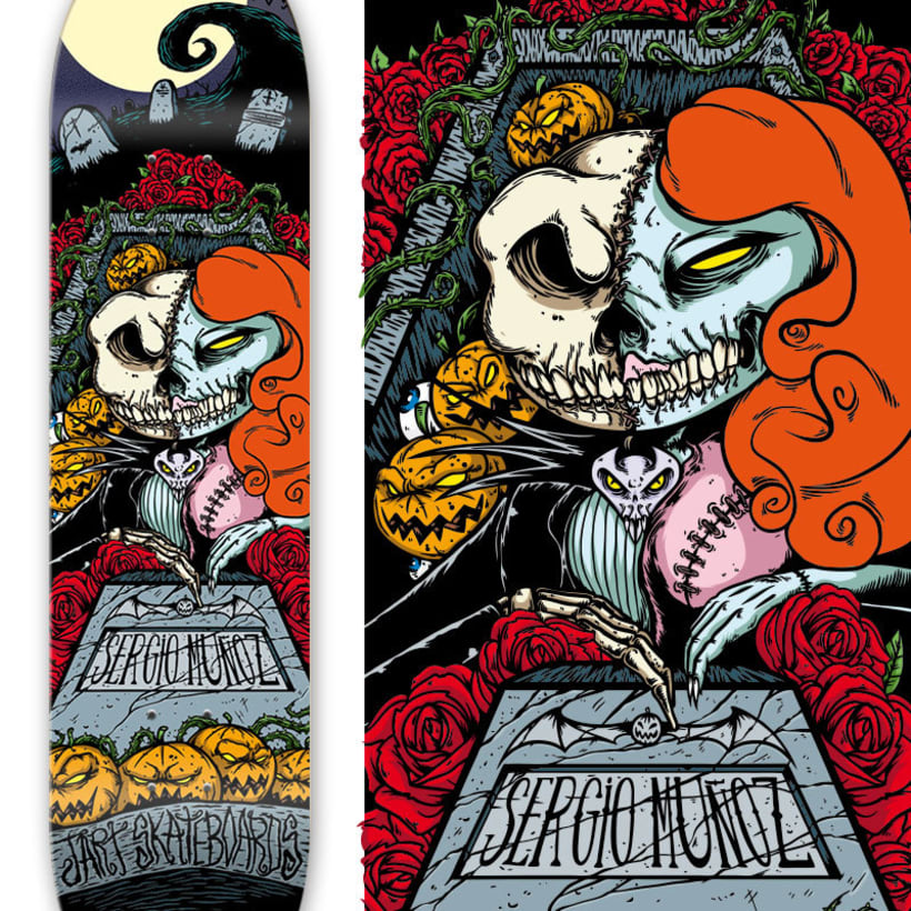Jart Skateboards - Cur Off Pro Series 4