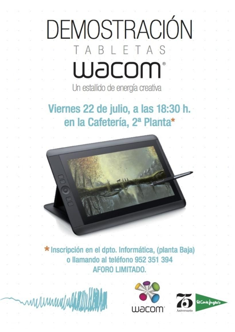 Sketching, Motion graphics y retoque en Corte Inglés de Bahía Málaga 1