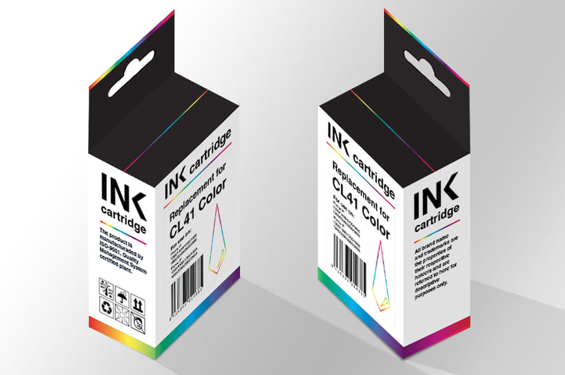 Ink cartbridge · Packaging -1