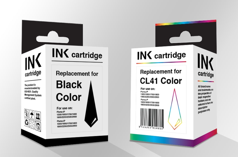 Ink cartbridge · Packaging 0
