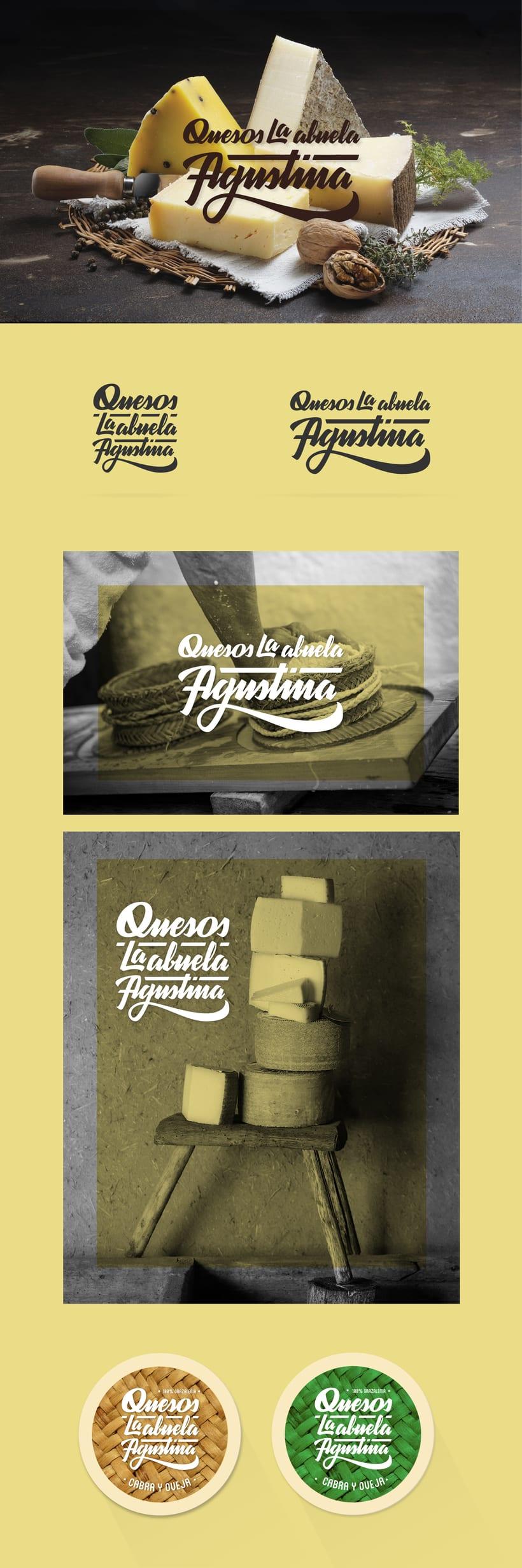 Quesos La Abuela Agustina · Logotipo -1