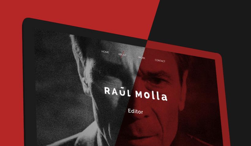 Mi Proyecto del curso: Raul Molla - Editor Portfolio 0