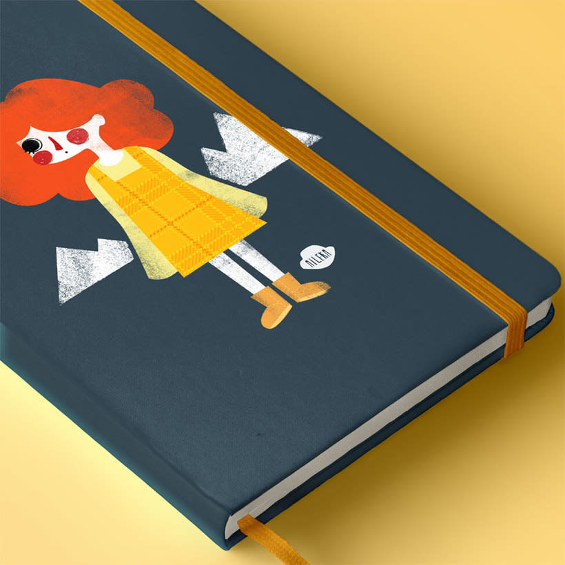 Portadas de cuaderno ilustradas 0