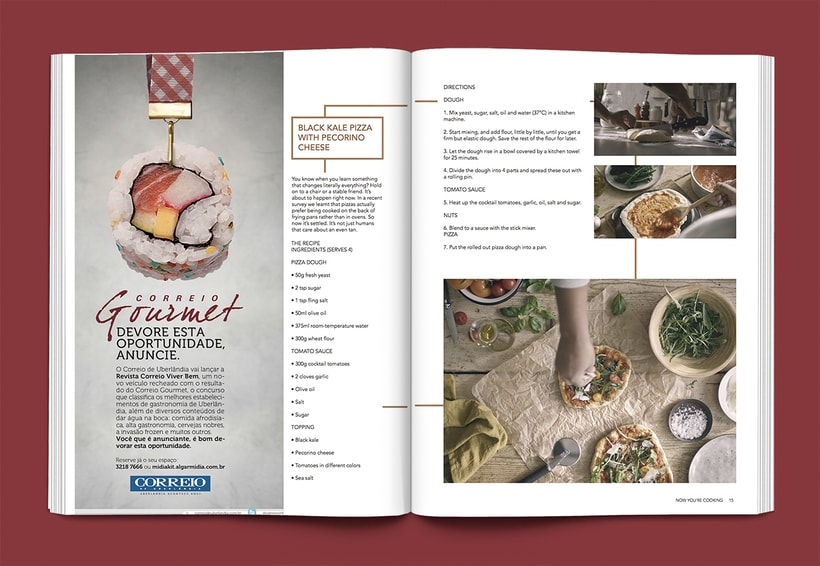 Revista Now you´re cooking 6