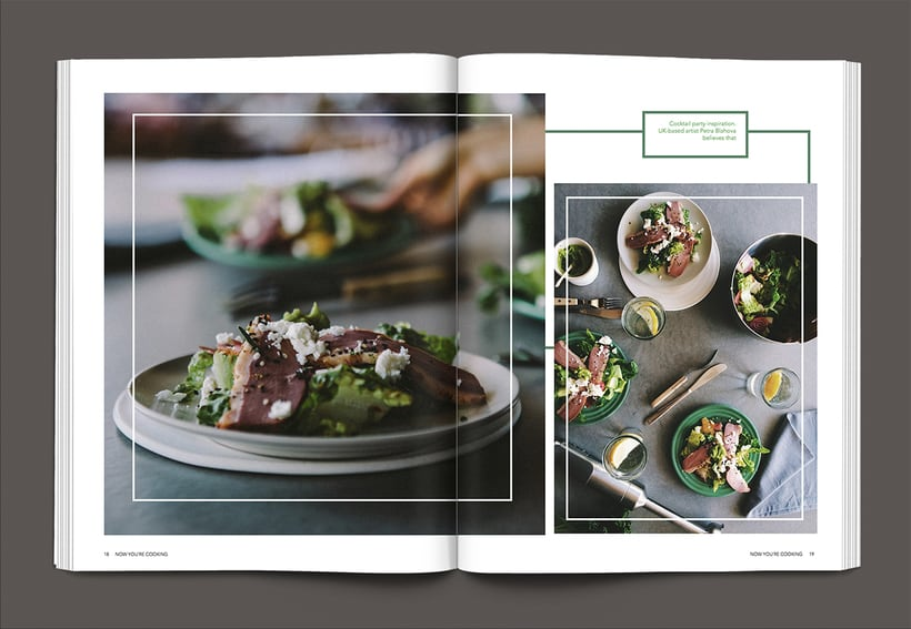 Revista Now you´re cooking 8