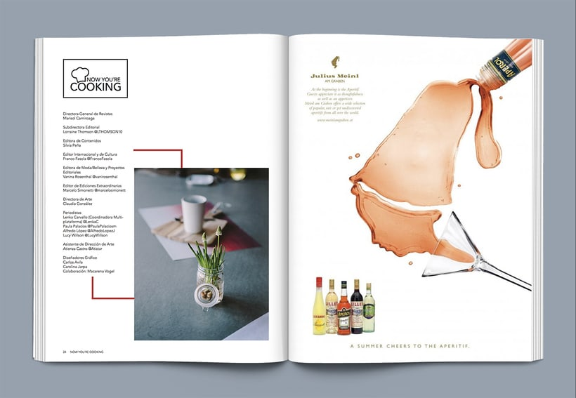 Revista Now you´re cooking 11