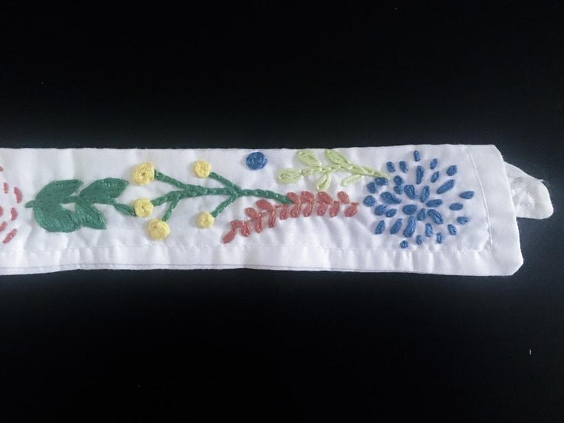 Mi Proyecto del curso: Técnicas básicas de bordado: puntadas, composiciones y gamas cromáticas 2