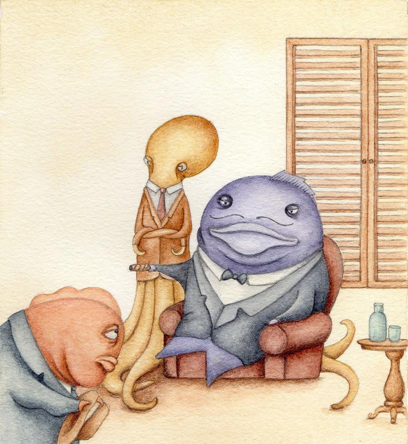 Un pez gordo. -1