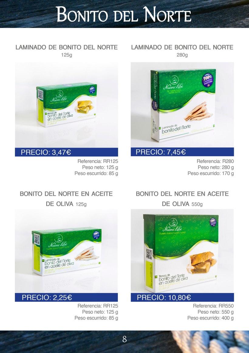 Práctica folleto conservas  Nuevo Libe 8
