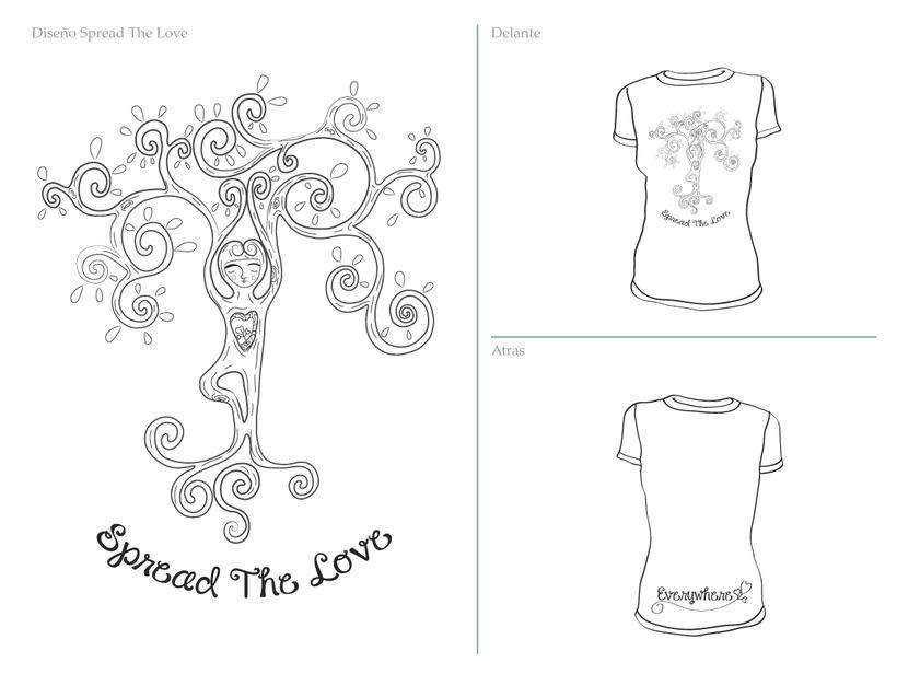 Cliente: Urban Gypsy | proyecto: Ilustración para franelas y diseños para publicidad 2
