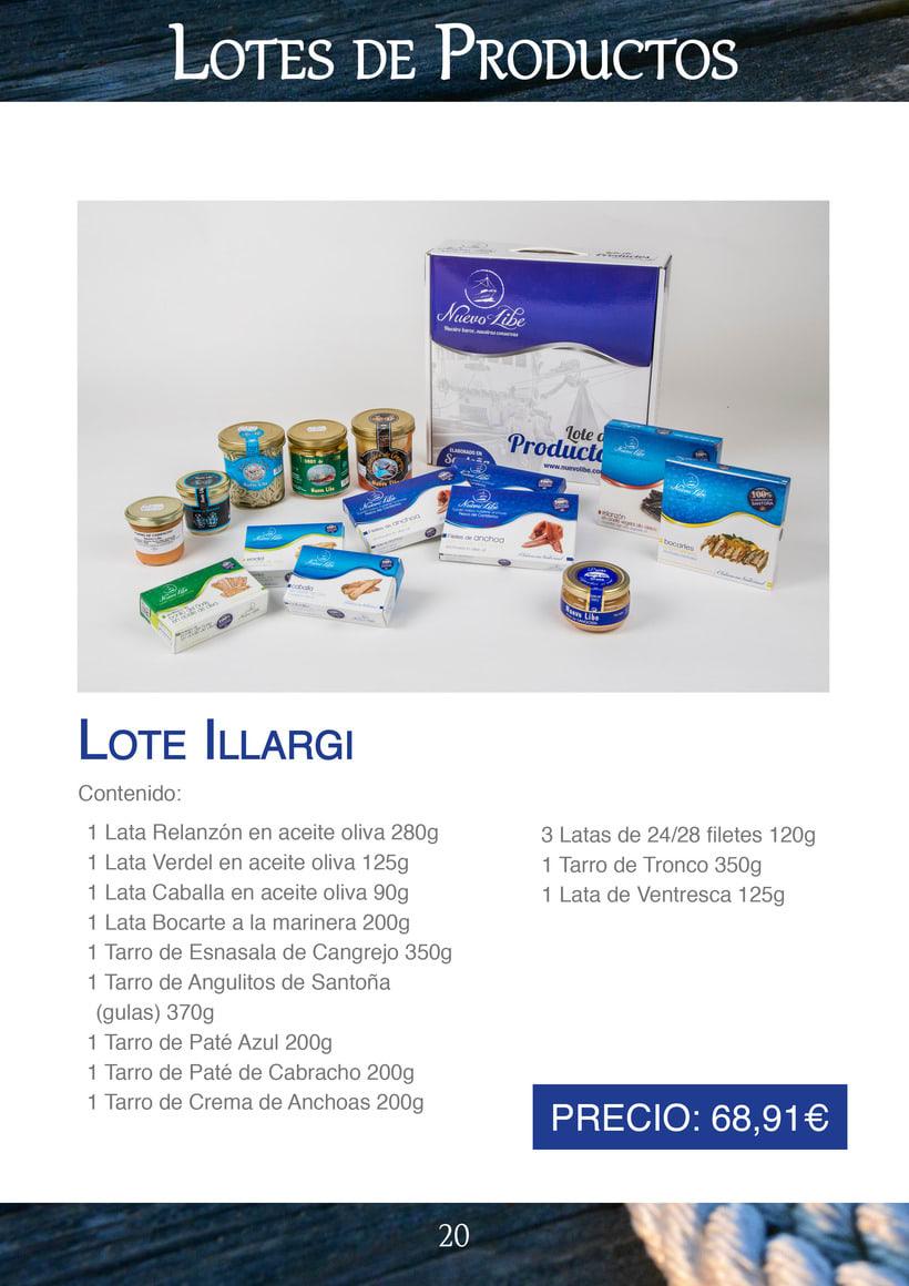 Práctica folleto conservas  Nuevo Libe 20