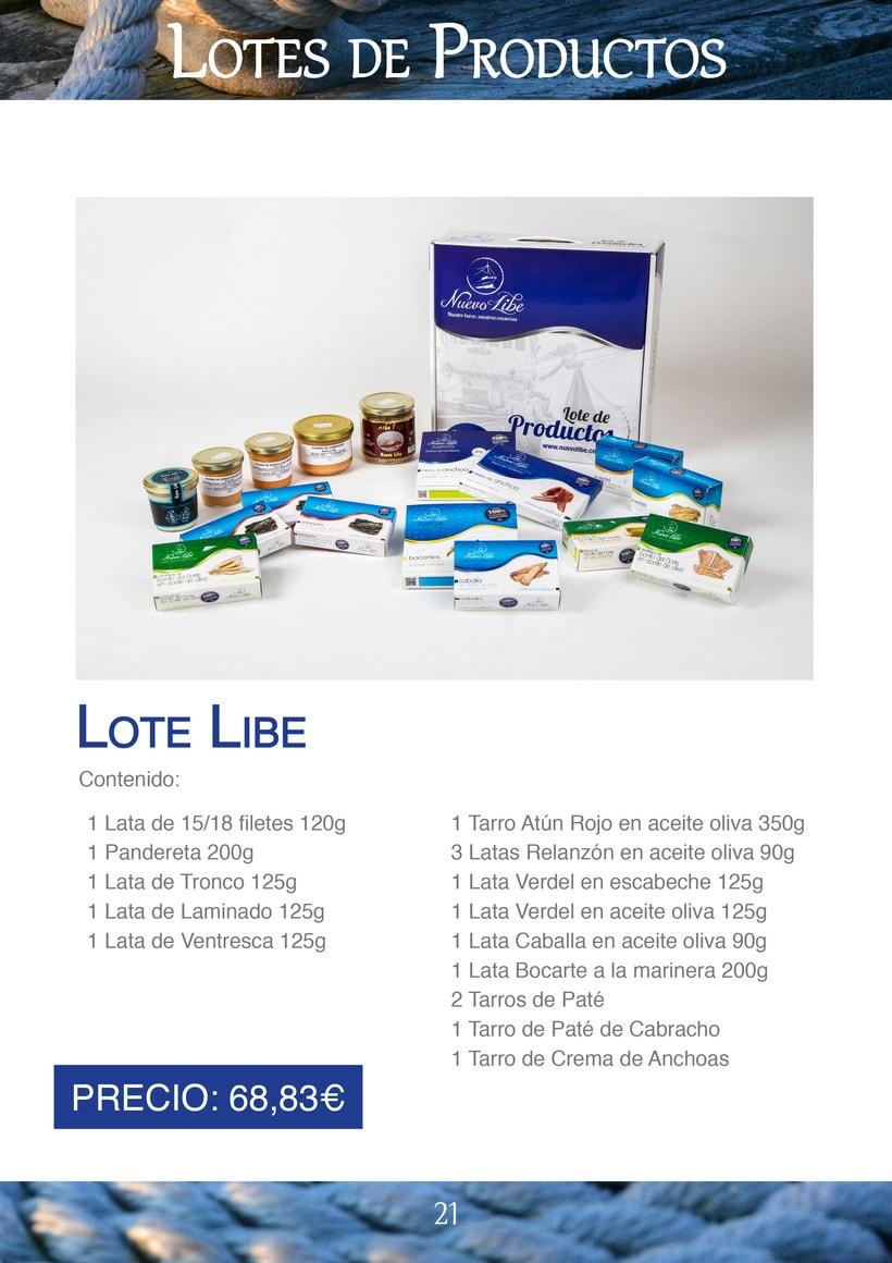 Práctica folleto conservas  Nuevo Libe 21