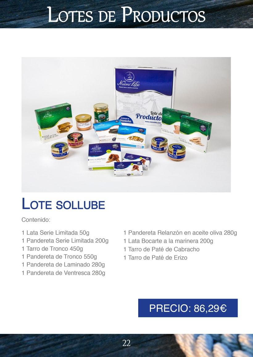 Práctica folleto conservas  Nuevo Libe 22
