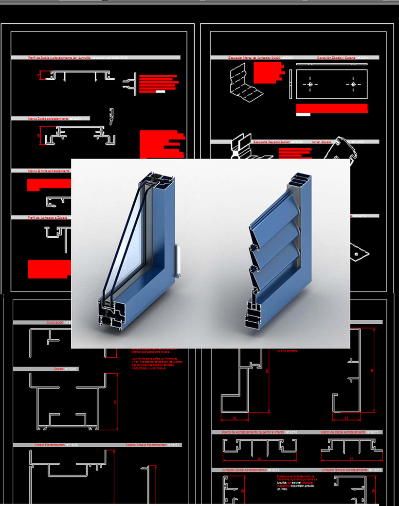 Diseño de Sistemas de Compartimentación con AutoCAD y SolidWorks. -1