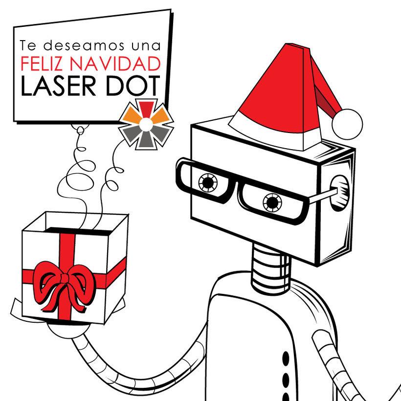 Proyecto ilustrado  | Cliente: Orange Dot y Laser Dot. 1