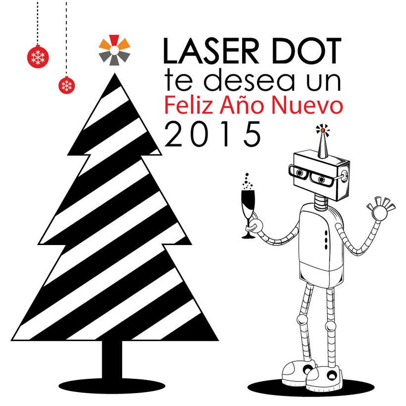 Proyecto ilustrado  | Cliente: Orange Dot y Laser Dot. 5