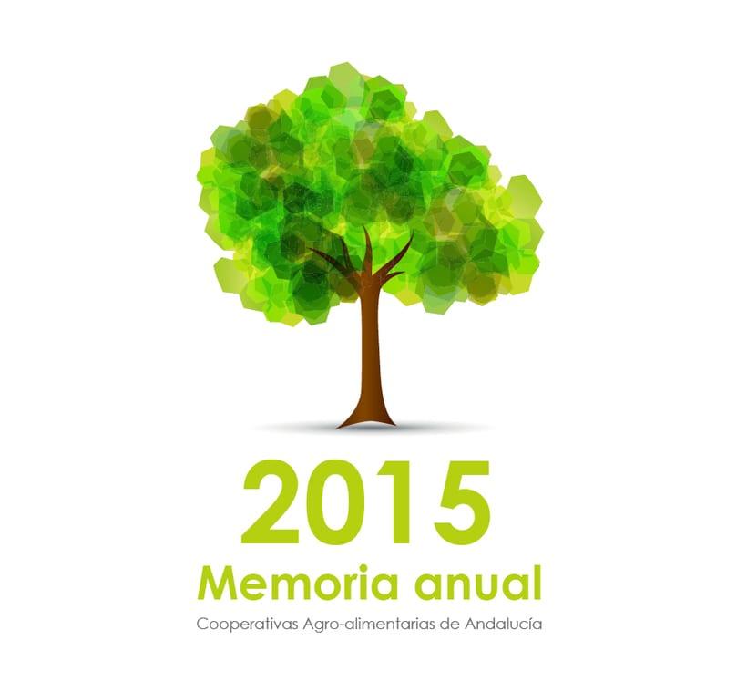 Diseño editorial Memoria anual 0
