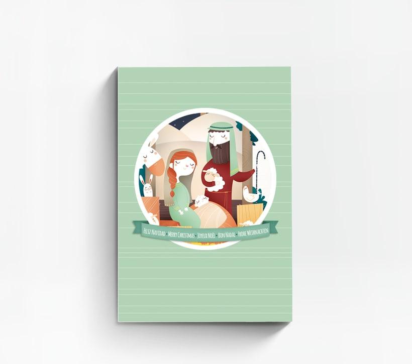 Hacia Belén. Ilustración infantil 4