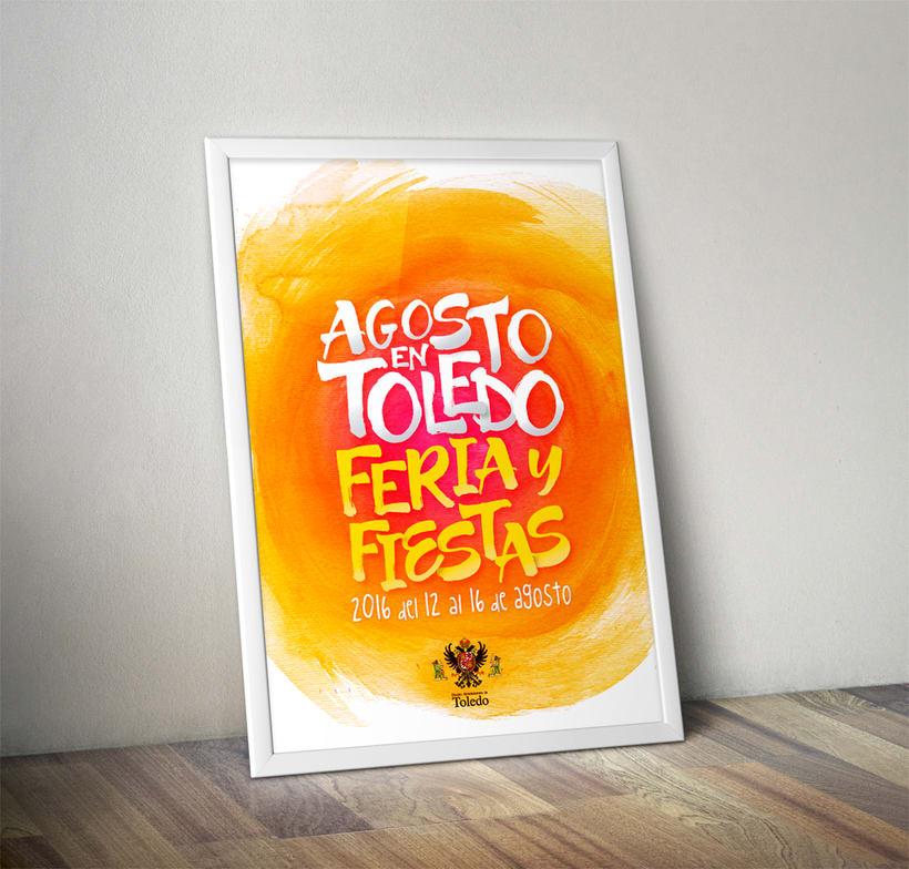 Cartel Feria y Fiestas Toledo 2016 0
