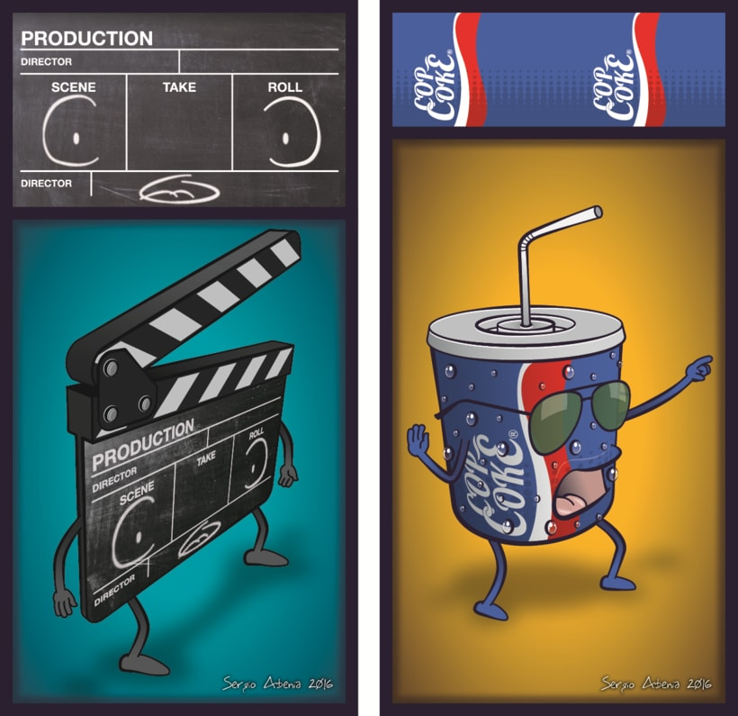 """Enjoy the Movie"" Proyecto Curso: Ilustración para no ilustradores 4"