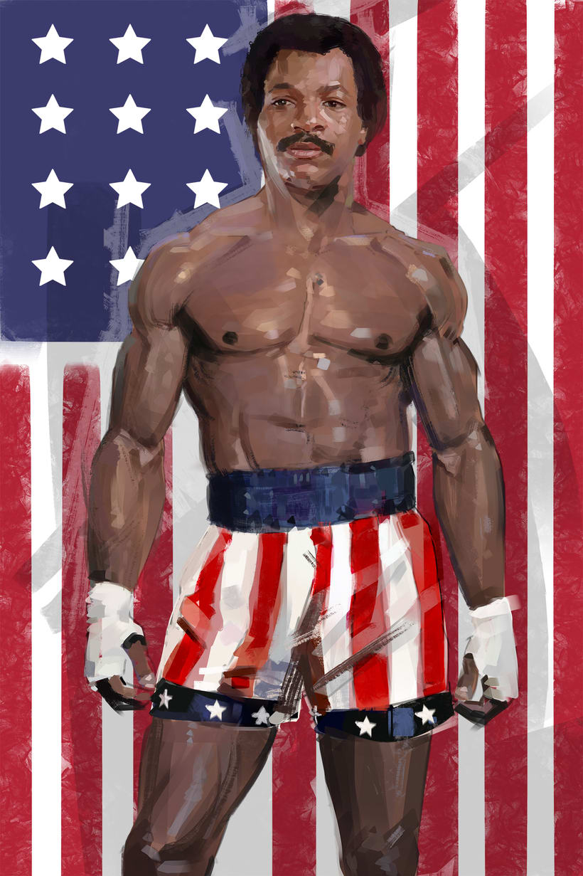 APOLLO CREED / ROCKY IV -1
