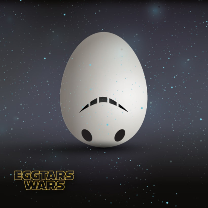 STAR WARS WITH EGGS 1
