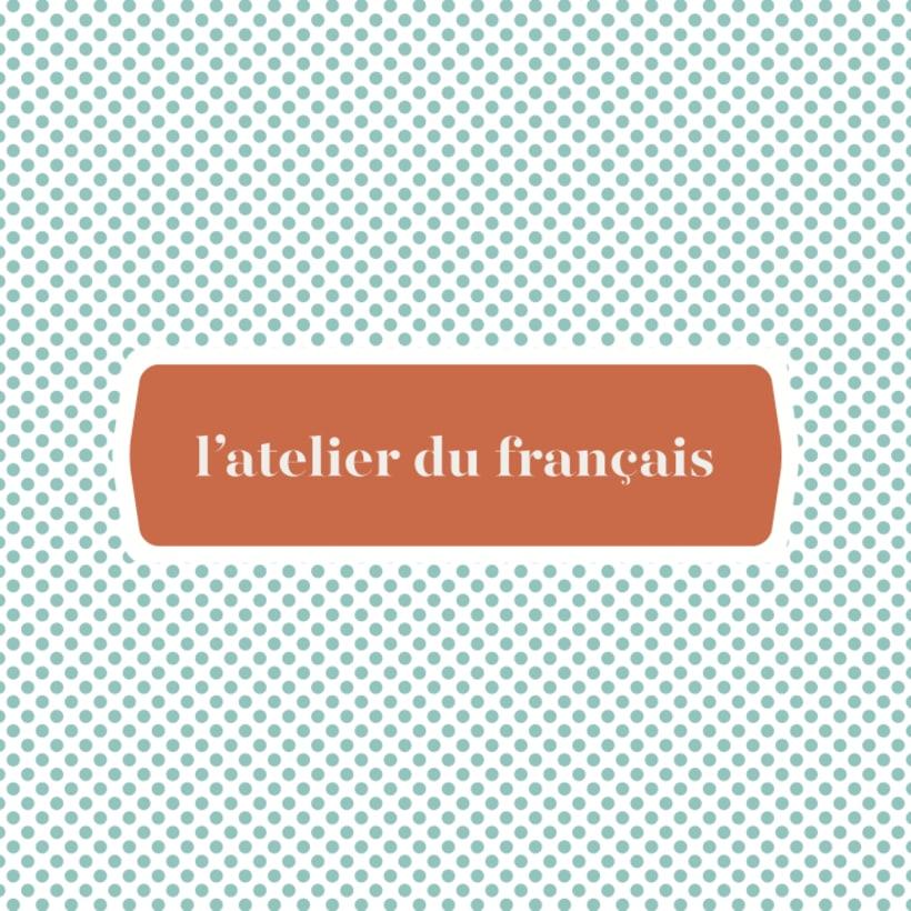 l'atelier du français -1