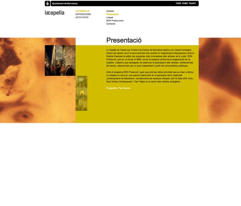 La capella website 2