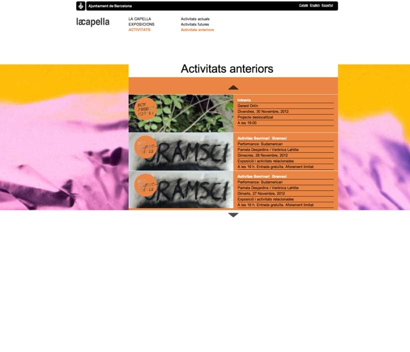 La capella website 3